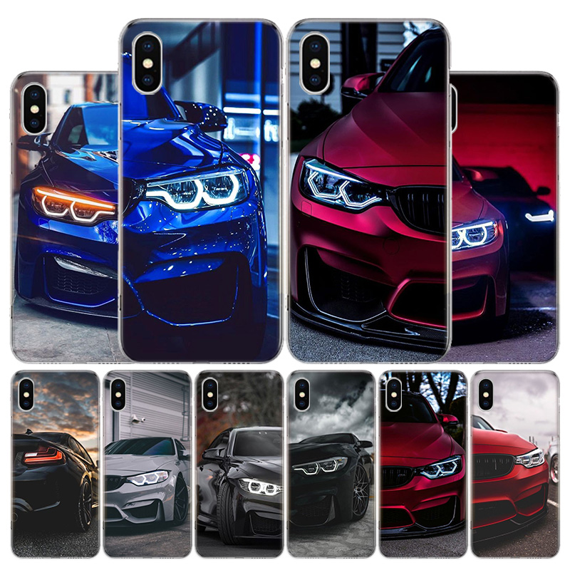 Hot Blue Red for Bmw Cover Phone Case For Apple iphone 11 12 Pro XR X XS Max 7 8 6 6S Plus + 7G 6G 5 SE 2020 Coque Popular image