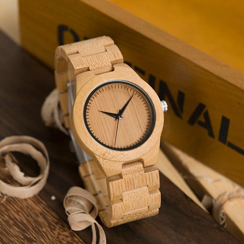 BOBO BIRD Bamboo Watch WN-D19