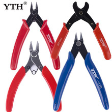 YTH Mini Diagonal Pliers Electrical clamps Wire Cable Cutters Cutting Side Snips Flush Pliers set of plier Nipper Hand Tools стоимость