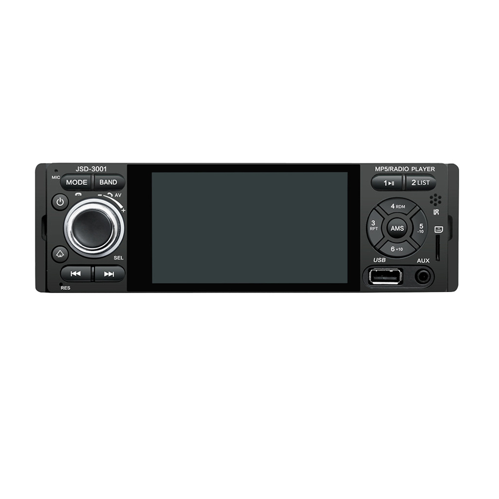4.1 pouces 1din Radio stéréo HD caméra Bluetooth miroir lien multimédia FM AUX Rechargeable USB écran tactile voiture MP5 lecteur