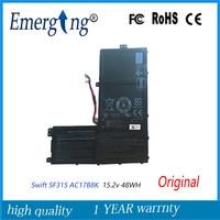 15 2 V 48Wh nueva batería de ordenador portátil AC17B8K para Acer Swift 3 SF315-52 SF315 SF315-52G-58HG