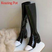 Krazing pot/ботинки «Челси» из коровьей кожи с круглым носком
