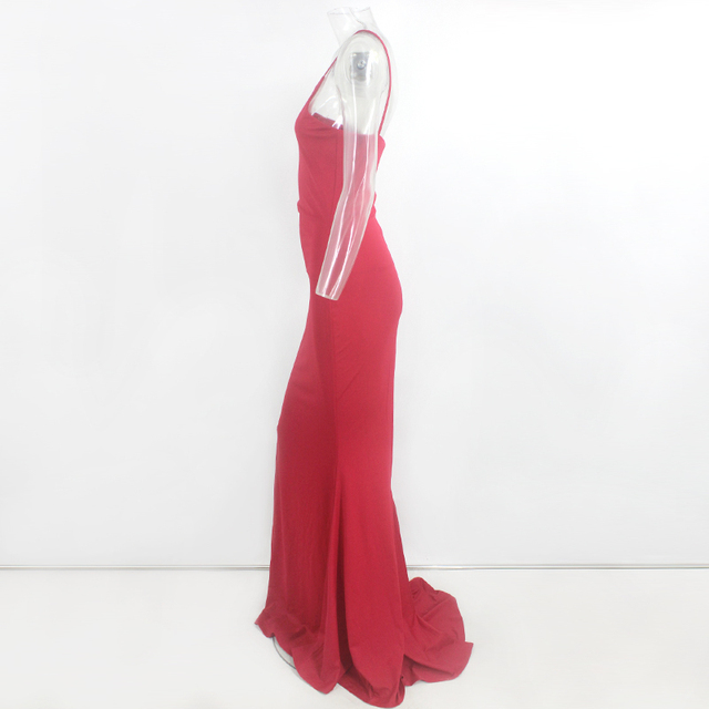 VeryYu Sleeveless Spaghetti Strap Dress Dresses Fashion  VerYYu