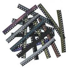 5x20 шт./цвет = 100 шт. 1206 0805 0603 красный/зеленый/синий/белый/желтый SMD светодиодный комплект электронных компонентов
