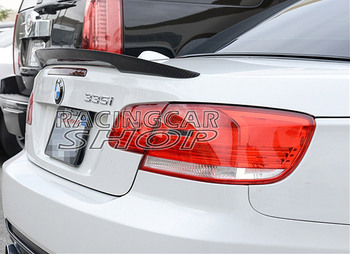P STYLE REAL Carbon Fiber Trunk Spoiler fit FOR BMW E93 3-SERIES Convertible 318i 320i 325i 328i 330i 335dx Drive 07-13 B086 1