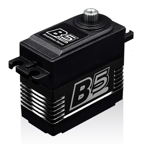 AMS-1Pcs B5 20KG High Torgue Brushless Metal Gear Servo for RC Airplane 3DF3A image