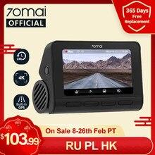 In-Lager 70mai Dash Cam 4K A800S Gebaut-in GPS ADAS 70mai A800S 4K Kamera UHD auto DVR 24H Parkplatz Monitior SONY IMX415 140FOV