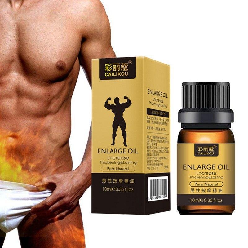 Mens Vitality Massage Essential Oil Penis Enlargement Extending Sex Life Male Delay Spray Enlarge