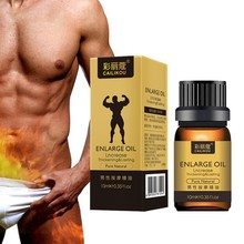 Mens Vitality Massage Essential Oil Penis Enlargement Extending Sex Life Male Delay Spray Enlarge