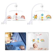 360 rotativa brinquedos educativos berço do bebê musical cama móvel vento carrilhão acabar chocalho 13 24 meses juguetes bebes 0 a 12 meses