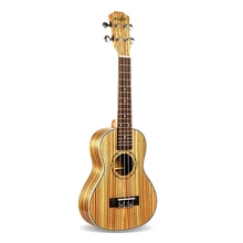 Tenor Ukulele 26 Inch 4 Strings Zebrawood Hawaiian Mini Guitar Acoustic Guitar Ukulele 18 Frets Musical Stringed Instrument zebra 6 strings 38 inch folk acoustic electric bass guitar guitarra ukulele with case box for musical stringed instrument lover