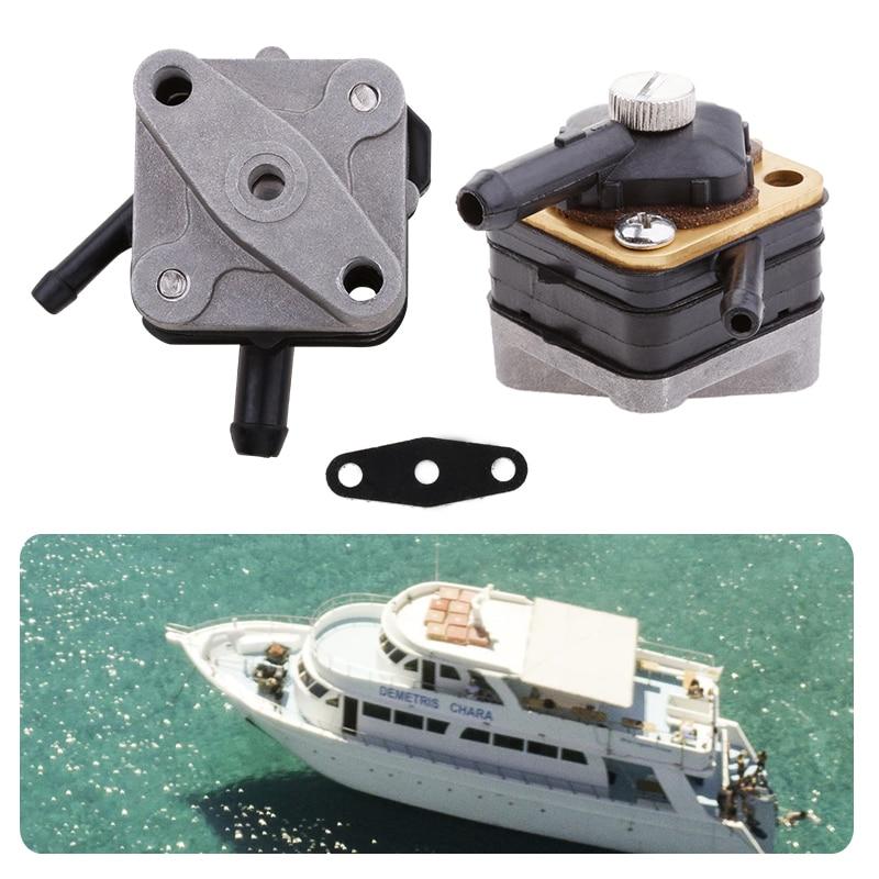 Boat Fuel Pump Marine Gas Oil Pump Car Vacuum Fuel Oil Pump & Gasket For Johnson Evinrude 6/8/9.9/15HP Outboard Engine Motor