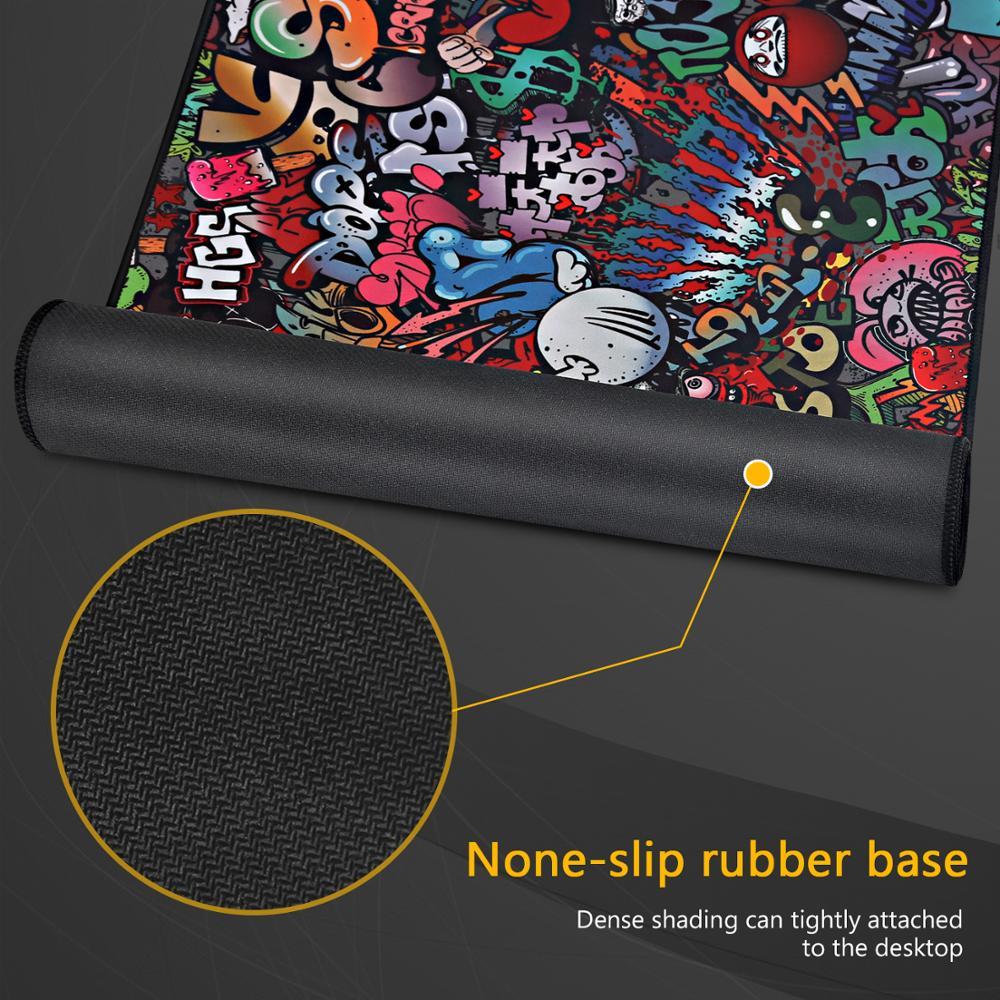 Игровой коврик для мыши, большой коврик для мыши, игровой компьютерный коврик для мыши 900x400, большой коврик для мыши с картой мира XXL, коврик для ноутбука, клавиатуры, Настольный коврик-4