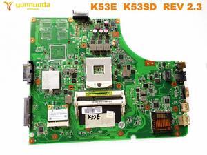 Image 1 - Original for ASUS K53E  laptop motherboard K53E  K53SD  REV 2.3 tested good free shipping