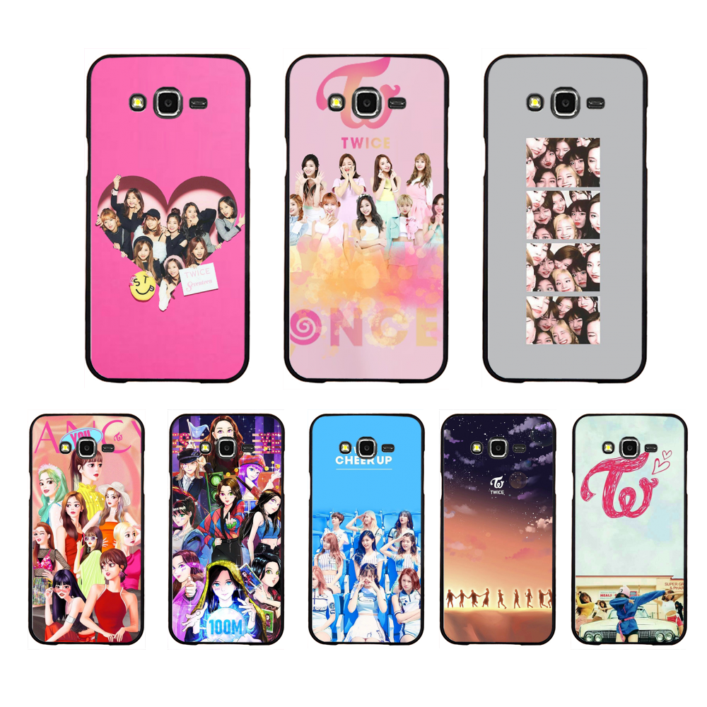 NBDRUICAI Twice Mina Momo <font><b>Kpop</b></font> <font><b>Coque</b></font> Shell Phone Case For <font><b>Samsung</b></font> Galaxy J7 J8 J3 J4 J5 <font><b>J6</b></font> <font><b>Plus</b></font> 2018 Prime image