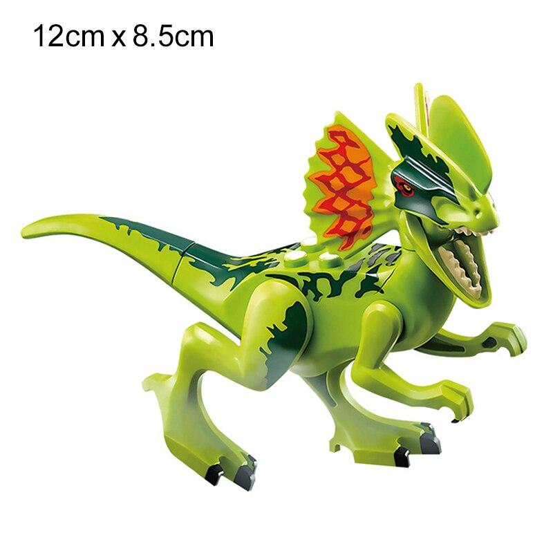 NEW 2020 Jurassic Building Blocks Dinosaur Tyrannosaurus Pterosaur Figures Bricks compatible Tyrannosaurus Assemble Kids Toys 6