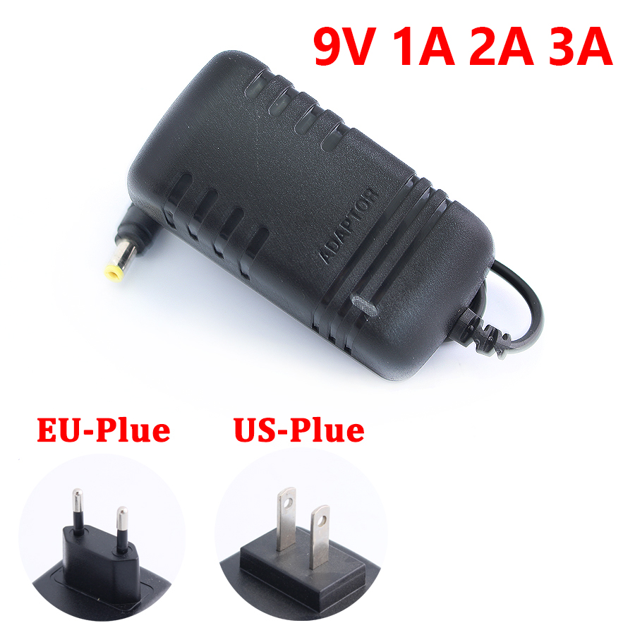 Power Adapter Led Driver <font><b>DC</b></font> 9V 1A 2A 3A Adjustable <font><b>DC</b></font> <font><b>9</b></font> <font><b>V</b></font> Volt <font><b>ac</b></font> <font><b>dc</b></font> adapter Charger Supply Switching 220V to 12V Led Light Lamp image