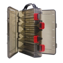 Fishing Tackle Box Water Resistant Portable Organization Case For Bait Lure Tools New