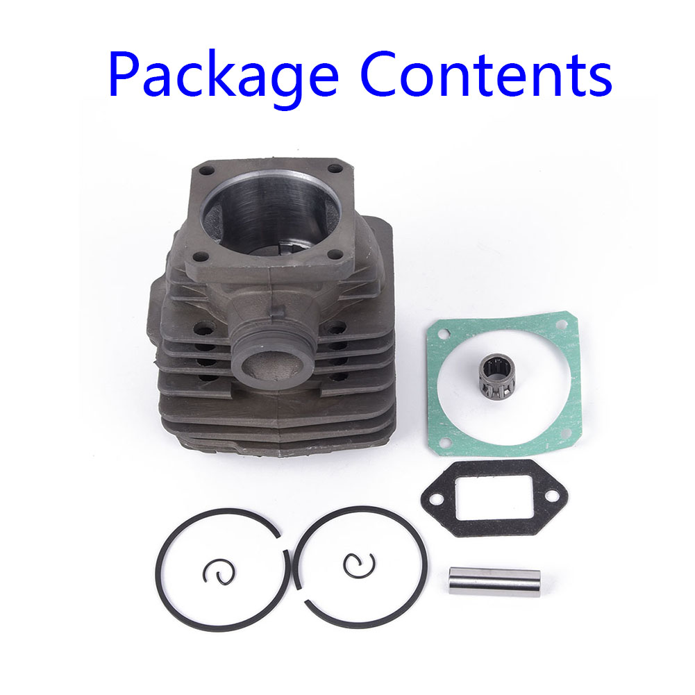 48MM Cylinder Kits For Stihl 034SUPER 036 MS360 Chainsaw Sets Accessaries Replacements New