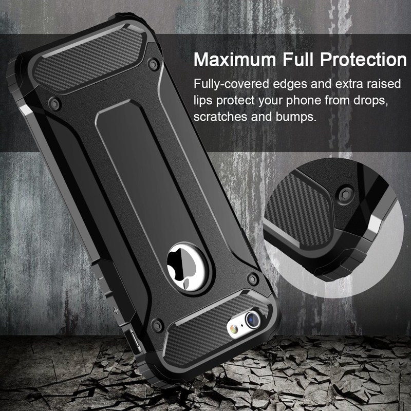 Rugged Dual Layer Armor Case for iPhone 1