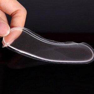 Image 3 - Силиконовые стельки для обуви, 6 шт. = 3 пары, противоскользящие гелевые подушечки для ухода за ногами, защитные подушечки для пятки, вкладыши для обуви