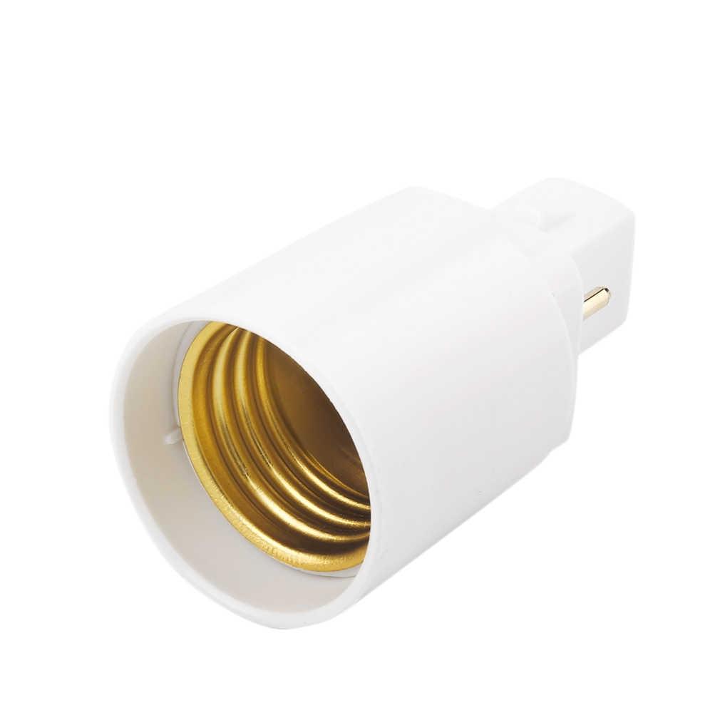 G24-E27 Chống PBT Ổ Cắm Căn Cứ Vít LED Đèn Halogen Đèn Bộ Chuyển 2 Pin Bán Buôn