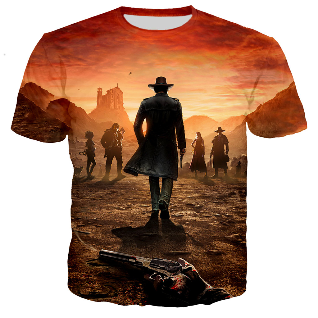 2021 Red Dead Redemption Men/women New Fashion Game 3D Printed T-shirts Casual Style Tshirt Streetwear T Shirts