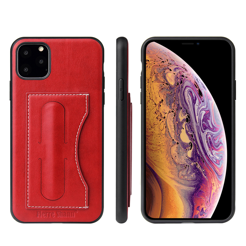 Fashion Faux Leather Card Holder Case for iPhone 11/11 Pro/11 Pro Max 10