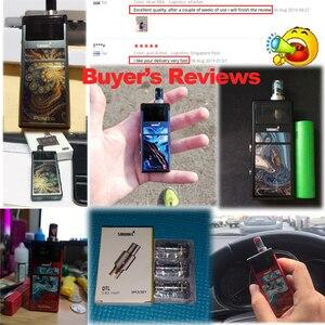 Image 2 - Наборы электронных сигарет Smoant Pasito Vape Pen Kit 1100mAh перестраиваемый DIY Pod 3ML Atomizer MTL DTL vaporizador Starter Kit vs Jester