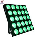 COB ล้างผู้ชม 25 Eye น้ำท่วม 25*10W LED Matrix Blinder Light DMX STAGE uplighting สำหรับแสดงคอนเสิร์ต