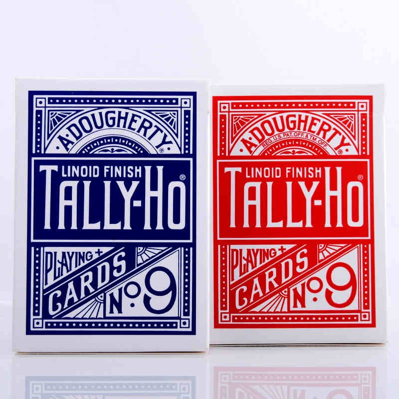 1 Deck Tally-Ho Playing Cards Magic Deck Magic Tricks Cardistry Deck