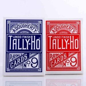 1 Deck Tally-Ho Playing Cards Magic Deck Magic Tricks Cardistry Deck(China)