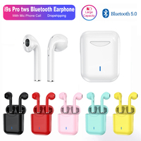 Yeni i9s Pro tws Mini kablosuz kulaklıklar Bluetooth kulaklık Stereo spor kulaklık mikrofonlu kulaklık telefon görüşmesi PK i7s i11 i12 TWS