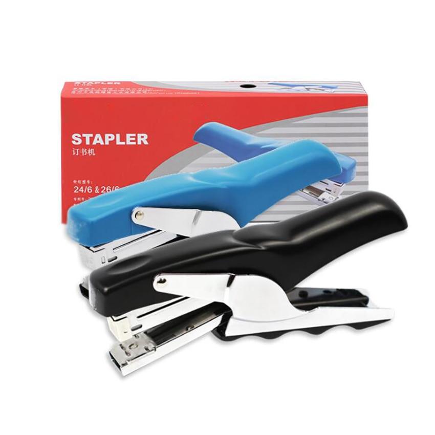 Desktop Stapler, 20 Sheet Capacity, Handheld Labor-saving Stapler, Use No.12 Staple, Paper Binding for Office, Home, Student thumbnail