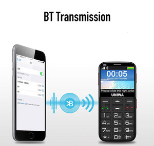 """Image 4 - Wcdma 3G Russische Toetsenbord Oude Man Mobiele Telefoon Sos Knop 1400Mah Batterij 2.31 """"Cellphone Zaklamp Torch Mobiele telefoon Ouderen"""