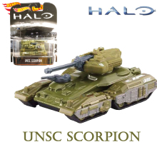 Theme-Alloy Halo Model-Collection Game Unsc-Scorpion Hot-Wheels 1/64 Vehicle War-Series