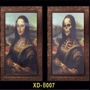 Image 2 - Verwisselbare 3D Ghost Foto Frame Halloween Decoratie Spooky Vrijgezellenfeest Supplies Craft Levert Halloween Props
