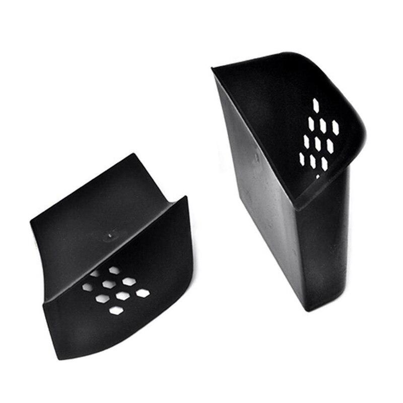 2Pcs Black Door Armrest Organizer Storage Box For Boxster Cayman 911 2013-2019
