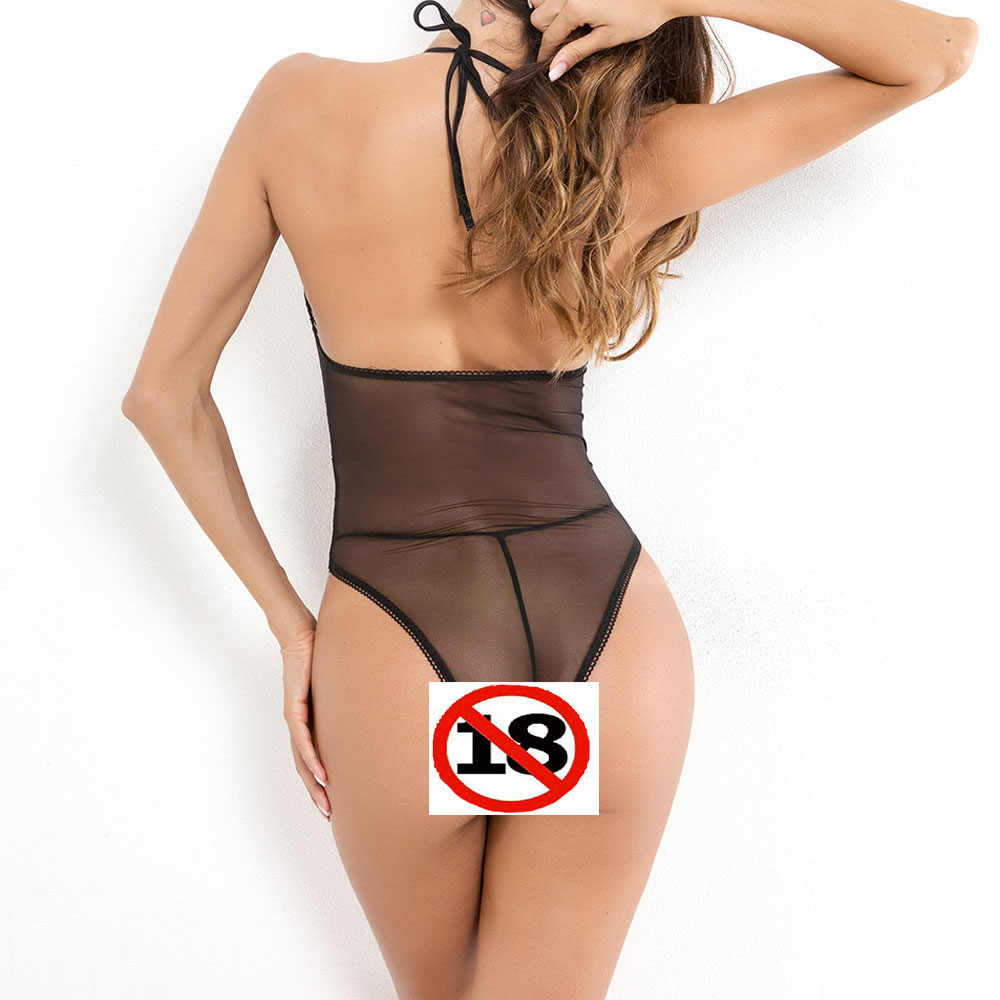 2020 Sexy Lace Seethrough bodysuits Coveralls High Quality Stretch Fabric Nightwear Hot Women Taste underwear Bra Body Lingerie