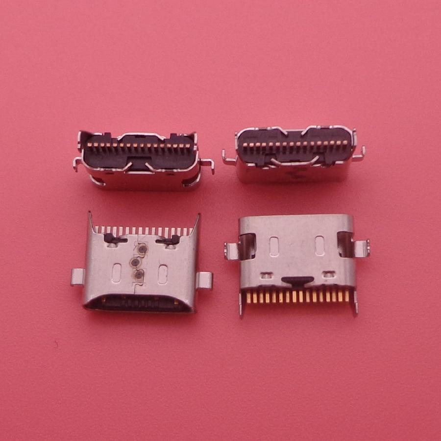 50pcs/lot For Samsung Galaxy A20s A 20s A207 SM-a207f Micro USB Charging Port Dock Socket Plug Charger Connector Socket