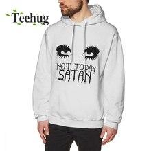 RuPaul Not Today Satan Hoodies Men Quality sweatshirt Crewneck