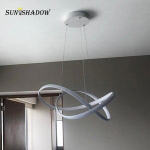 Image 4 - โมเดิร์นโคมไฟระย้า LED สำหรับห้องนั่งเล่นห้องนอนห้องนอนโคมไฟพื้นผิว LED โคมระย้าโคมไฟแขวนโคมไฟ