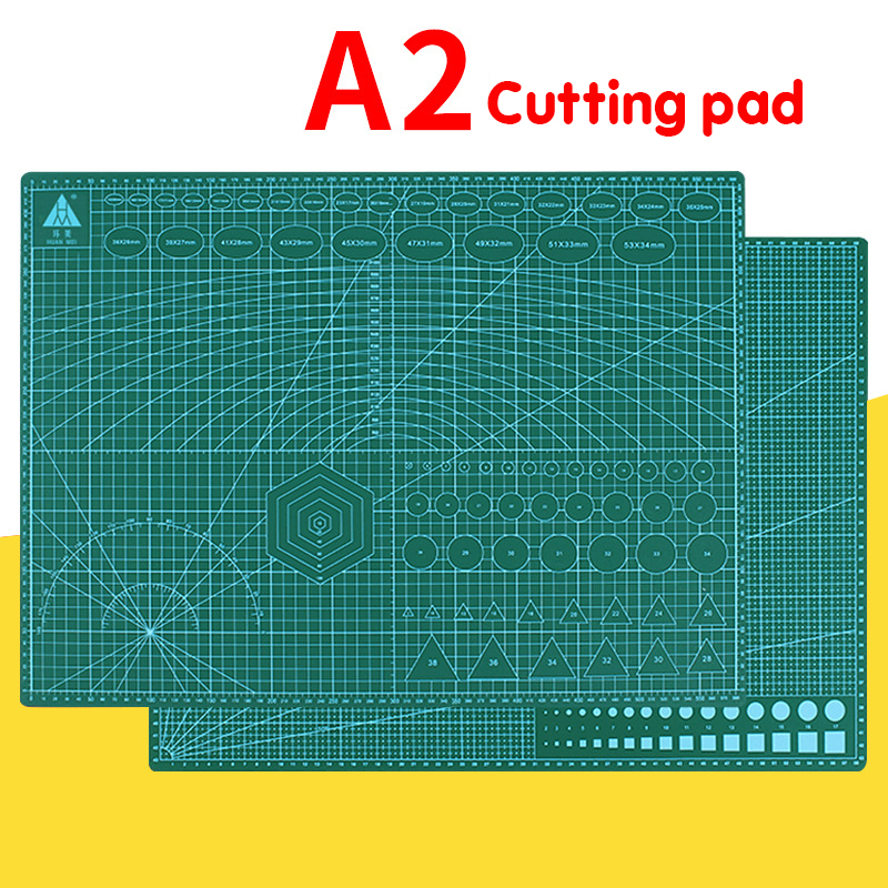Closeout DealsCutting-Board Craft-Card Self-Healing A2 Grid-Line Desktop Multicolor Double-Sided 60--45cm