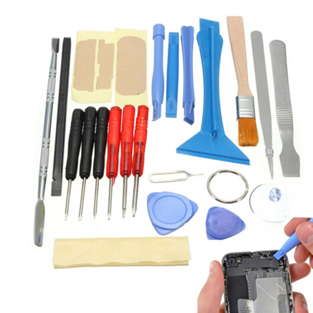 New 22 in 1 Smart Cell Mobile Phone Opening Pry Repair Tool Kit Torx Screwdrivers Set For iPhone For Samsung Hand Tools Set image