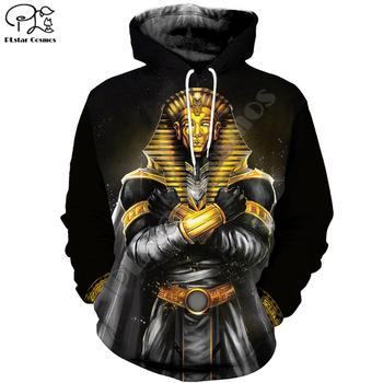 PLstar Cosmos Horus Egyptian God Eye of Egypt Pharaoh Art Tracksuit Casual 3DPrint Hoodie/Sweatshirt/Jacket/Men Women s-1 rev michael day god s divine alignment god s divine assignment volume 1