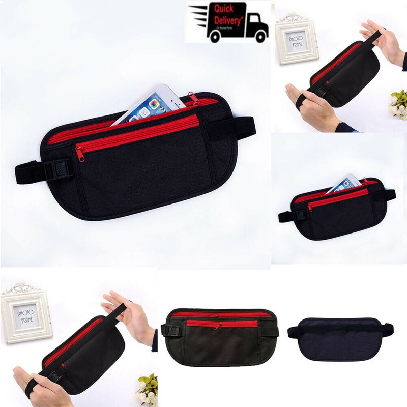 2019 New Multifunction Waterproof Waist Packs Hidden Security Phone Key Bag Strap Bag For Travel And Jogging Travel Sports Bags