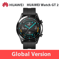 In Stock Global Version HUAWEI Watch GT 2 GT2 GPS 1.39'' AMOLED Waterproof Phone Smart Call Heart Rate Tracker For Android iOS
