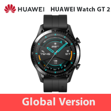 In Lager Globale Version HUAWEI Uhr GT 2 GT2 GPS 1.39 ''AMOLED Wasserdichte Telefon Intelligente Call Herz Rate Tracker für Android iOS