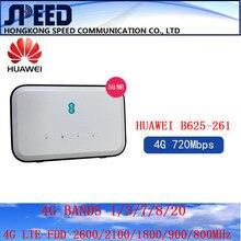 Desbloqueado huawei b625 B625-261 cat12 720mbps 4g cpe roteadores wifi hotspot roteador com slot para cartão sim ee 4g roteador pk b315 b535 b818
