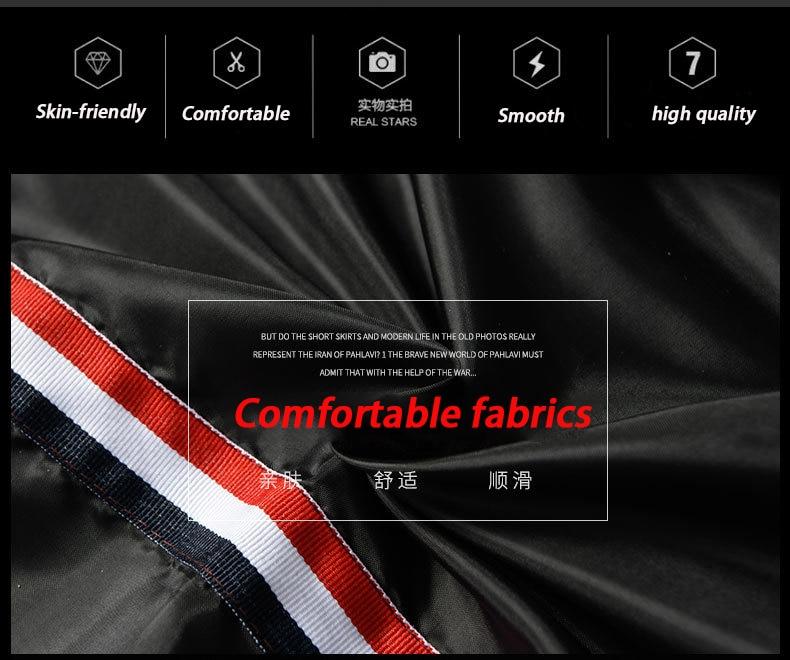 H658d0a961c454ffc9b5d688031fdafc9j 2019 new jacket loose men's bomber jacket men's casual hip hop baseball collar print fashion jacket smooth jacket streetwear